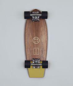 SALT: Skateboard - Mustard