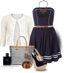 """""""* TORY BURCH Bag * Straw Tote"""" by hrfost1210 ❤ liked on Polyvore"""