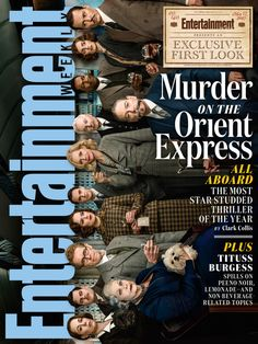 Murder on the Orient Express on the Cover of EW
