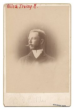 Citation: Irving Ramsay Wiles, ca. 1890 / unidentified photographer. Charles Scribner's Sons Art Reference Dept. records, Archives of American Art, Smithsonian Institution.