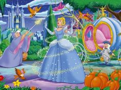 """""""Cinderella believed in dreams, alright, but she also believed in doing something about them. When Prince Charming didn't come along, Cinderella went over to the palace and got him. Images Disney, Art Disney, Film Disney, Disney Love, Disney Magic, Disney Artwork, Cinderella Wallpaper, Disney Princess Cinderella, Disney Wallpaper"""