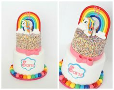 My Little Pony Cake Made by https://www.facebook.com/CecesSweetCreations?ref=hl