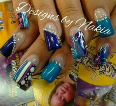 34 Best Bad Ass Nails Images On Pinterest Cute Nails Long French