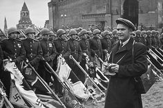 Evgeny Khaldei, at the shooting of the victory parade in Moscow, June The Unique Photo Exhibion of a Soviet War Reporter Pope Leo, Victory Parade, War Photography, Red Army, Cartoon Shows, Unique Photo, World War Two, Wwii, The Past