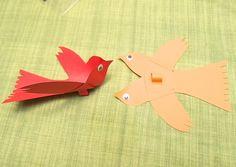 Móka Noellel: Báb madárka, paper bird                                                                                                                                                                                 More