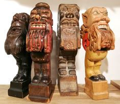 Sammlung Roland Paireder Cracker, Wal, Nutcrackers, Wood Carvings