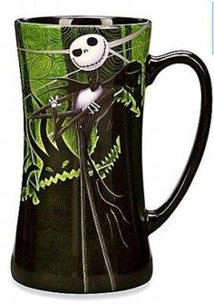 I found 'Jack Skellington And Zero Green Coffee Mug' on Wish, check it out!