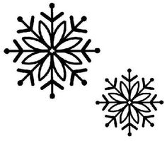 Sue Wilson Stamps - Bold Snowflake-Set of 2 stamps. Merry Christmas And Happy New Year, Christmas Gift Tags, Christmas Crafts, Snowflake Template, Snow Flakes Diy, Wood Burning Crafts, Rock Painting Designs, Vector Flowers, Christmas Snowflakes