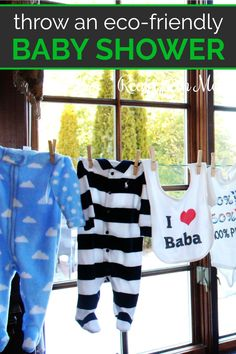 How to Throw an Eco-Friendly Baby Shower - Real Green Mom Reusable Diapers, Cloth Diapers, Eco Baby, Shower Set, Shower Ideas, Baby Pregnancy, Natural Parenting, Baby Wearing, New Moms