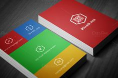Check out Metro 2 in 1 Business Card by felicidads on Creative Market