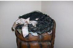 Victorian Doll Hat W/ Blueberries by MICSJEWELSGALORE on Etsy