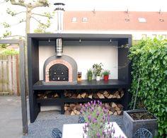 Tuinhuis inclusief pizzaoven - Keuken voor buiten