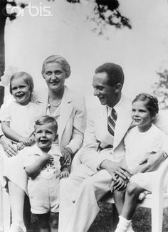 Portrait of Joseph Goebbles and His Family - U417700ACME - Rights Managed - Stock Photo - Corbis