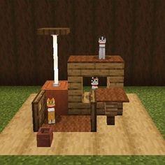 Gato Minecraft, Minecraft Garden, Minecraft Cottage, Cute Minecraft Houses, Minecraft Plans, Amazing Minecraft, Minecraft Blueprints, Minecraft Buildings, Minecraft House Tutorials