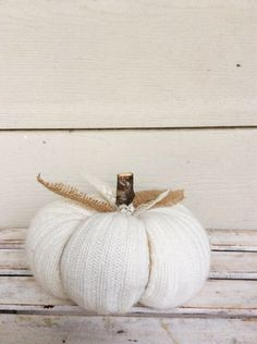 Sweater Pumpkin, Decorative Pumpkins,Fall Decor, Fabric Pumpkin, Farmhouse Decor, Rustic Decor, Decorative Pumpkin, Fall Decor, Autumn Decor by Blakeswork on Etsy https://www.etsy.com/listing/481986283/sweater-pumpkin-decorative-pumpkinsfall