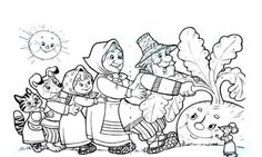 Coloring Pages For Kids, Coloring Books, Nursery Rymes, Kindergarten Projects, Traditional Tales, Bedroom Plants, Weaving Art, Colorful Pictures, Fairy Tales