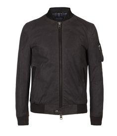 Kensai Bomber Jacket, Men, Outerwear, AllSaints Spitalfields