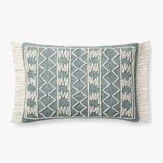 Loloi designs and crafts rugs, pillows and throws for the thoughtfully layered home. Blue Pillows, Throw Pillows, Ed Ellen Degeneres, Modern Shop, Burke Decor, Home Rugs, Cushion Pads, Lumbar Pillow, Furniture Decor