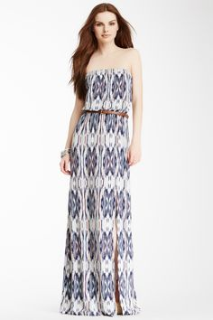 I love this printed maxi for spring by Tart!