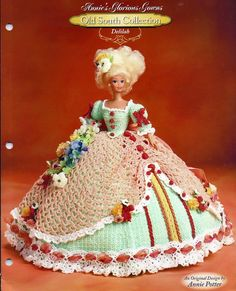 Annies Glorious Gowns Old South Collection / Delilah / Crochet Pattern book 8904
