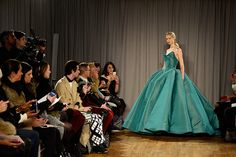The Most Gorgeous Gowns from the New York Runways