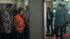 Gubernur Banten ditahan oleh KPK