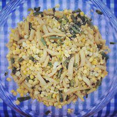 Plat de maïs et haricots verts Indiana succotash #MarthaChallenge