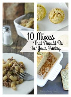 Looking for some delicious recipes that you should have on your pantry shelves? Here are some of my favorites!