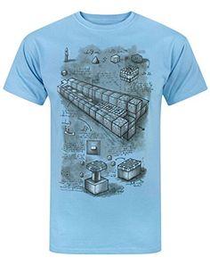 Hombres - Minecraft - Minecraft - Camiseta (M) #camiseta #realidadaumentada #ideas #regalo
