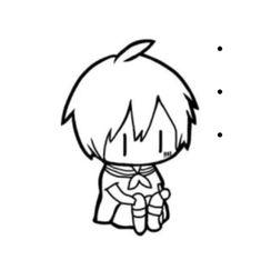 数十万個の投稿スタンプを掲載中 Vocaloid, Miku Chibi, Chibi Boy, Cute Chibi, Anime Chibi, Anime Art, Find Memes, Haikyuu Funny, Anime Animals