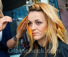 Hair Coloring Techniques - Foiling