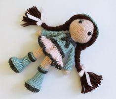 PATRÓN: Ducha de bebé  muñeca  muñeco de peluche por Anatillea