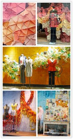 Share →090977I think everyone feels inspired when they look at Anthropologie displays and windows. The whimsical, imaginative, and innovative designs make great idea starters for fantastical wedding decor, so I figured that today, I'd share some of my favorite windows I've seen. My all time favorite was the Spectrum display that Ruthi Auda created for …