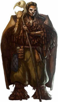 Nomad Shaman or elder Dungeons And Dragons Art, Dungeons And Dragons Characters, Dnd Characters, Fantasy Characters, Fantasy Wizard, Fantasy Male, Fantasy Rpg, Dark Fantasy, Fantasy Portraits