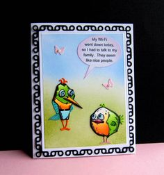 IC573 Wi-Fi Down by catluvr2 - Cards and Paper Crafts at Splitcoaststampers