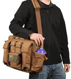 I dont always carry a diaper bag..but when i do..its a LA Police Gear Jumbo Tactical Diaper Bag