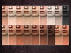 Found in tsr category 'sims 4 skintones' sims four, sims 4 mm, si The Sims 4 Skin, The Sims 4 Pc, Sims Four, Sims 4 Mm, Sims 4 Cc Kids Clothing, Sims 4 Children, Nikki Sims, Sims 4 Cc Makeup, Play Sims