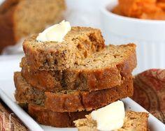 pumpkin bannana bread
