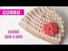 Easy To Crochet Beautiful Beanie Hat - ilove-crochet