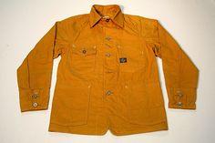 post o'alls x engineered garments chore coat