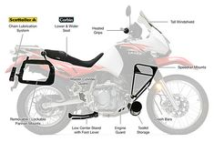 KATIRGA - Kawasaki KLR 650 motorcycle
