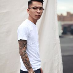 White T-shirt and Jeans