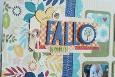 Nice tag cluster idea Becki Adams_Fall Favorite_2