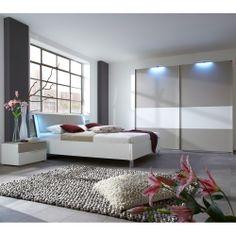 Schlafzimmer Möbel weiß grau Ophra.