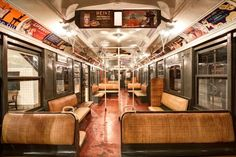 We're really proud to see that amNewYork used our shots of the New York Transit Museum in their latest piece -- 110 years of subway car design in New York City