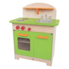 Gourmet Chef Kitchen Green - By Hape. Christmas 2015 or Birthday 2016