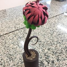 Flower Chocolate Showpiece art