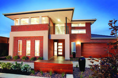Traditional charm meets a modern personality in the Parkside, and entertaining has never been made so easy! With a modern open design, Parkside offers spacious living at an affordable price. For more information call 1300 SIMONDS or visit our website. Facade Design, Exterior Design, House Design, Coastal Dining Room Sets, Simonds Homes, Double Storey House Plans, Storey Homes, Traditional Exterior, Display Homes