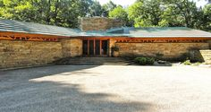 Frank Lloyd Wright's Kentuck Knob in Chalk Hill, PA:  This is not too far from F.L. Wright's 'Falling Water' house in Pittsburgh.