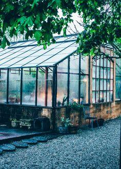 Old greenhouse Mellby Klockargard